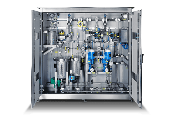 LEWA metering system for the chemical industry